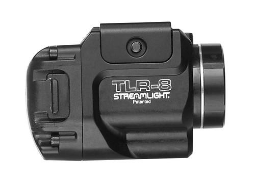 Streamlight 69410 TLR-8 500L Gun Light Red Laser, Black - 500 Lumens