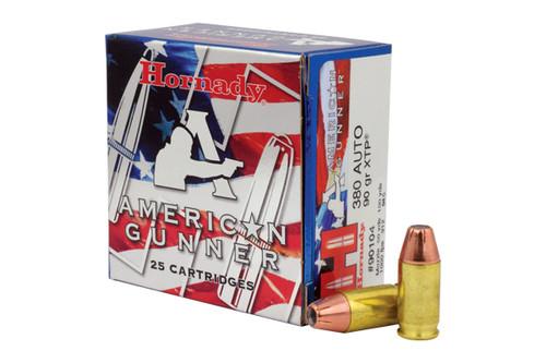 Hornady Ammunition .380acp AG 90 Grain XTP