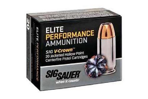 Sig Sauer Ammunition ELITE VCROWN .380acp 90 Grain