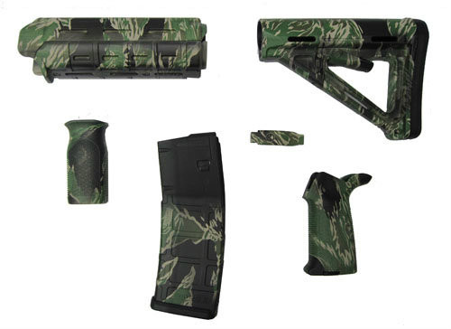 Ar 15 High Wildfire Camo Magpul Accessory Kit Milspec