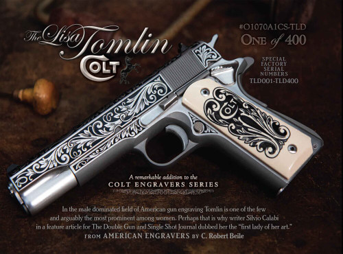 1911 Colt Government - .45 acp  - Talo - Lisa Tomlin