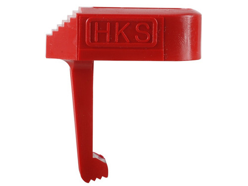 This is a speedloader to assist with loading Ruger Mark I & Mark II magazines, made by HKS.