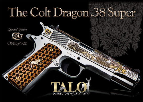 Colt Dragon 38 Super 9 rounds TALO JEWEL