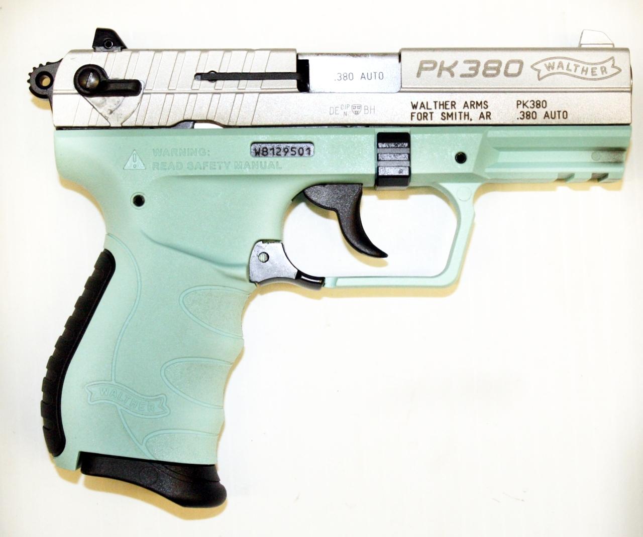 Walther PK380  380 acp - Angel Blue - USED