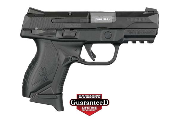 Ruger American Pistol 9mm - Compact W/ Thumb Safety - 8639