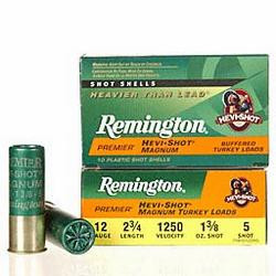 REMINGTON HEVI-SHOT TURKEY 12 GAUGE 2 3/4