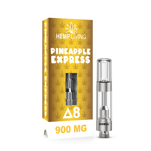 Pineapple Express Hemp Living D8 Vape Madison WI