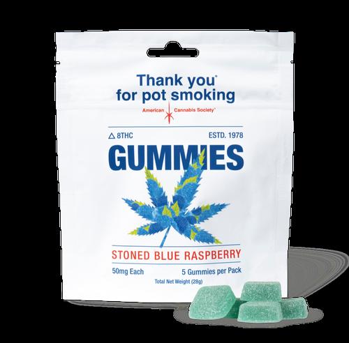 Thank You For Pot Smoking Delta 8 THC Gummies