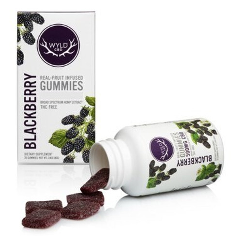 CBD Gummies Blackberry 250mg CBD