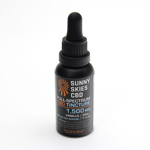 Vanilla Flavored CBD Oil