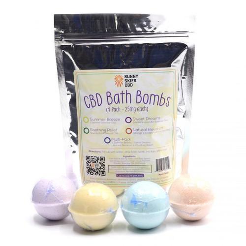 CBD Bath Bombs Madison GreenRX