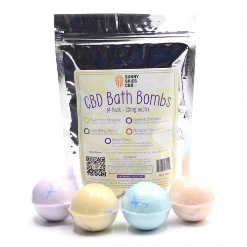 CBD Bath Bombs Madison GreenRX
