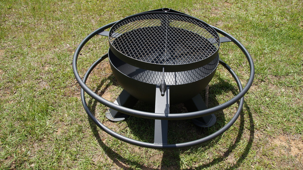 spindletop buc ee's fire pit for sale, Texas original bar bq pits, wilke's badass pits
