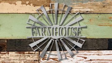 Farmhouse Split Windmill