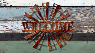 Welcome Split Windmill