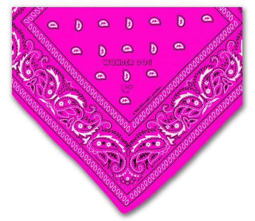 Bandana rose pour chien