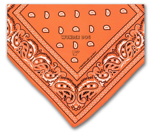 Orange Dog Bandana