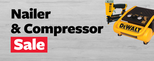 Nailers & Compressors Sale