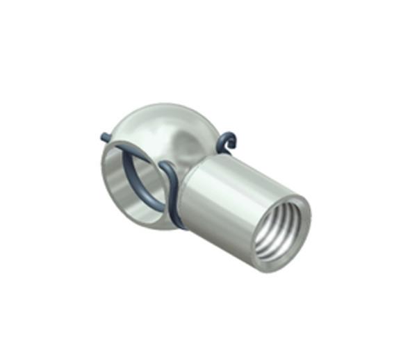 F3, M8 Zinc Plated Steel Ball Socket 50 piece pack