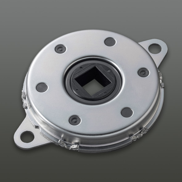 FDT-70B-903 Damping direction: Both clockwise & counter-clockwise, Rated Torque: 8.7 Nm, Max Rotational Speed: 50 RPM Optional slotted connecting part