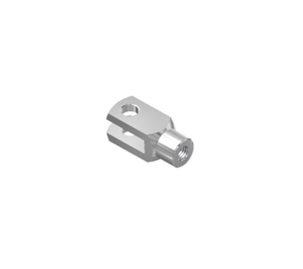 A5 M8 Zinc Plated Steel Fork Head Endfitting