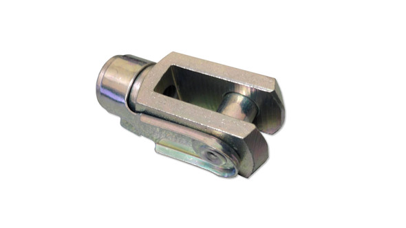 C5 M8 Zinc Plated Steel Fork Head Endfitting