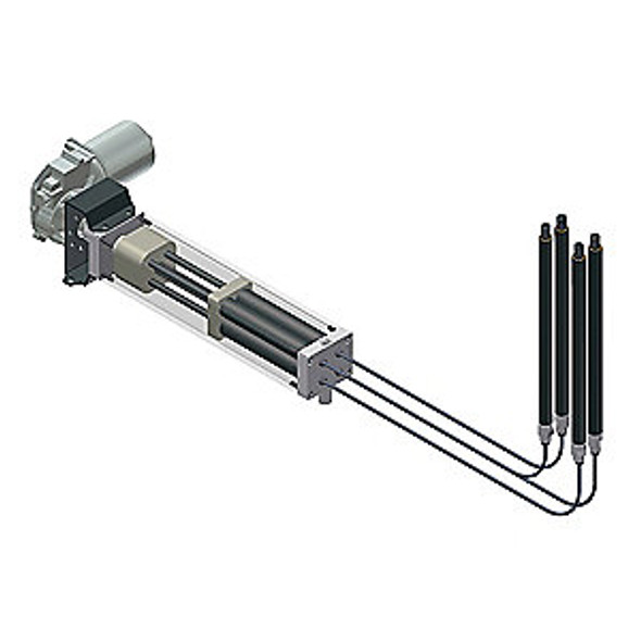 """Easymotion 6"""" Hydraulic Lift System w/ Motor"""