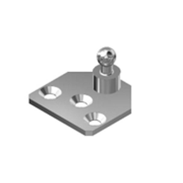 900BA4 13mm Ball Zinc Plated Steel Bracket
