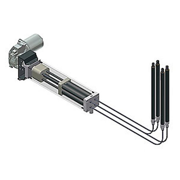 """Easymotion 8"""" Hydraulic Lift System w/ Motor"""