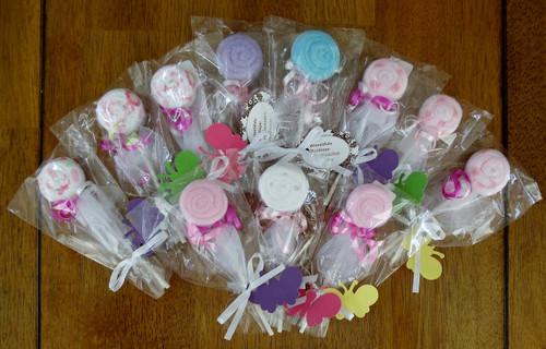 Assorted Girl's Washcloth Baby Pop