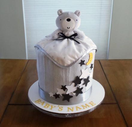 Unisex Eco-friendly Twinkle Bear Drip Diaper Cake