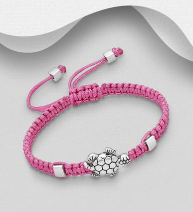 Baby and Children's zinc turtle adjustable bracelet