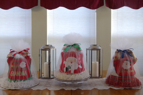 Baby 1st Christmas assorted diaper cakes