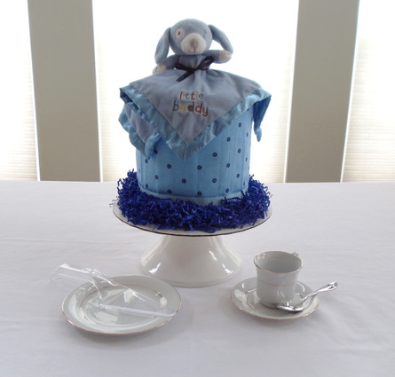 Blue Little Buddy Drip Diaper Cake