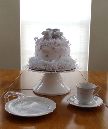 Unisex Eco Dream Big Baby Bundt Diaper Cake