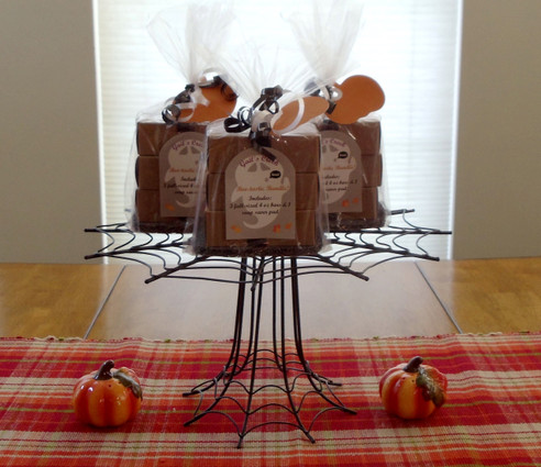 Boo-tastic Bundle  is a 3 pack of assorted full size soap bars for Fall.