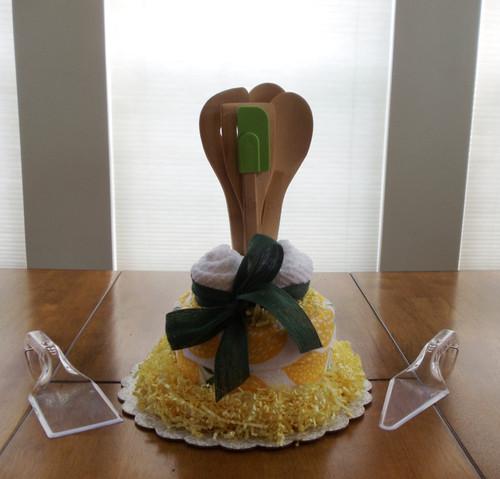 Lemon Kitchen Towel Cake