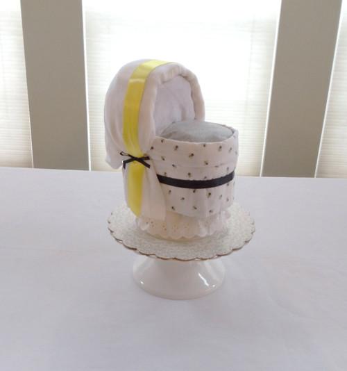 Eco Unisex Baby Bee Bassinet Diaper Cake