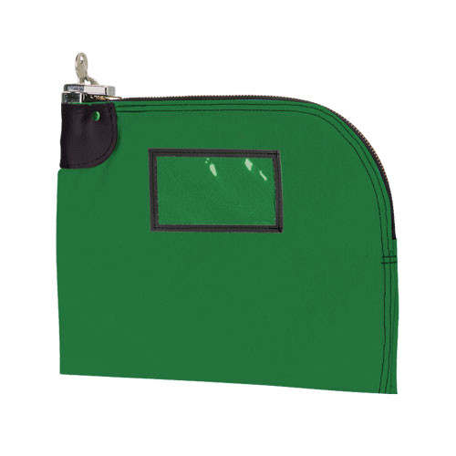 MEDIUM Curved Zipper Locking Bag