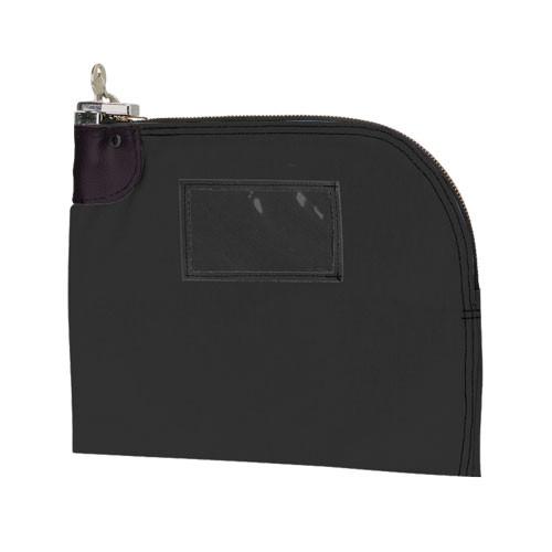 LARGE Curved Zipper Locking Bag