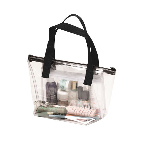 SMALL Employee Clear Vinyl Belonging Bag