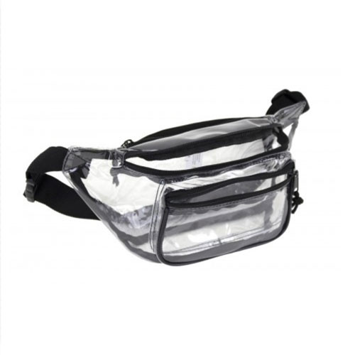 Clear Vinyl Employee Fanny Pack