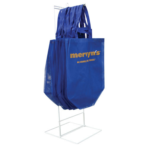 Shopping Bag Display Rack