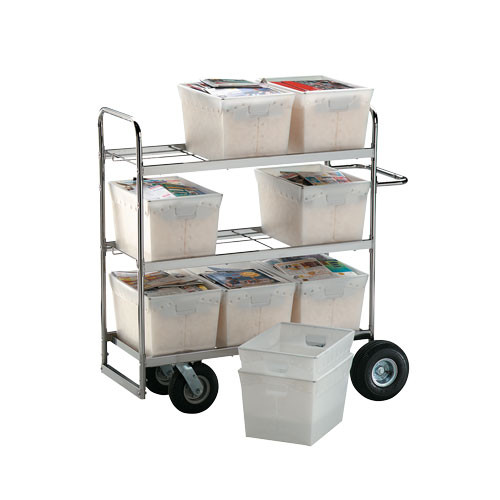 LARGE Mail Tote Delivery Cart