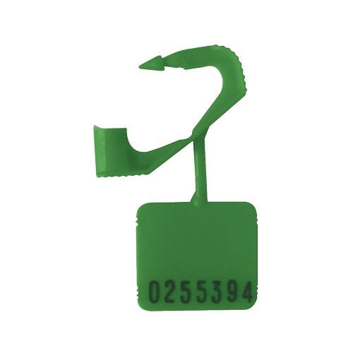 5 Zipper Hot Stamped Numbers Pinch Lock