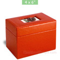 4x6 Recipe Boxes - Bon Appetit