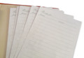 Mini Binder - Treasured Family Recipes Refill Pack Lined Pages