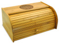 Aztec Calendar Bamboo Bread Box