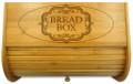 Centerpiece Wood Bread Box