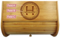 Personal Monogrammed Family Seal Breadbox